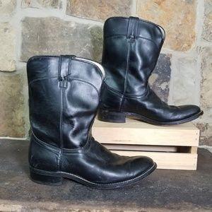 Laredo 10 D Black Boots